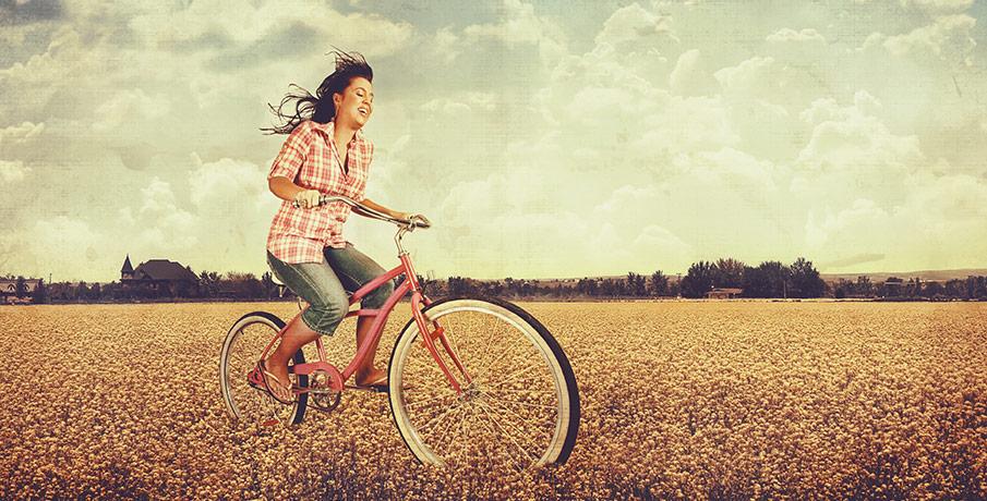 Välja cykelhjälm